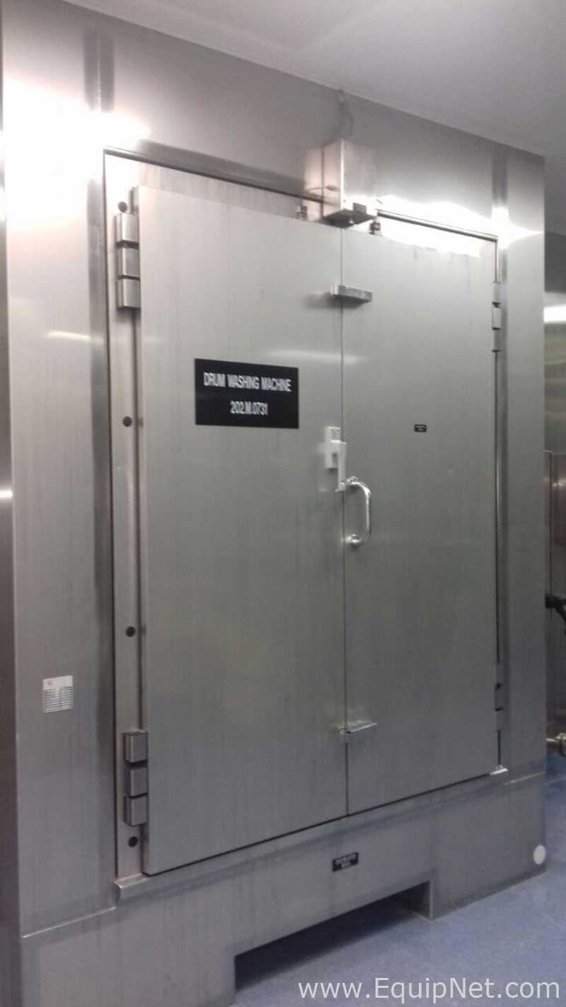 Línea de dispensación automática de polvos de grado farmacéutico Glatt Multi Station