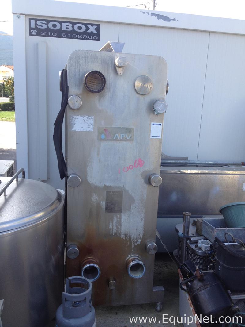 Intercambiador de calor de placas APV K55