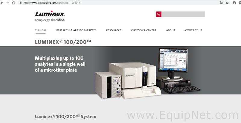 Luminex Luminex 100 Analyzer