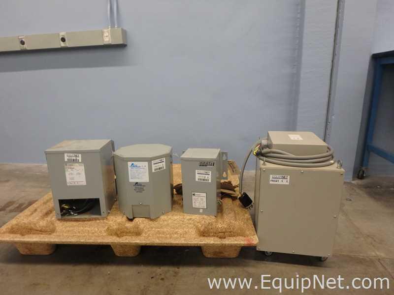 Lote de 4 transformadores de uso general Catálogo NO 9T21B1004G02 y T-2-53516-3S y HS5F3AS Y SLC3