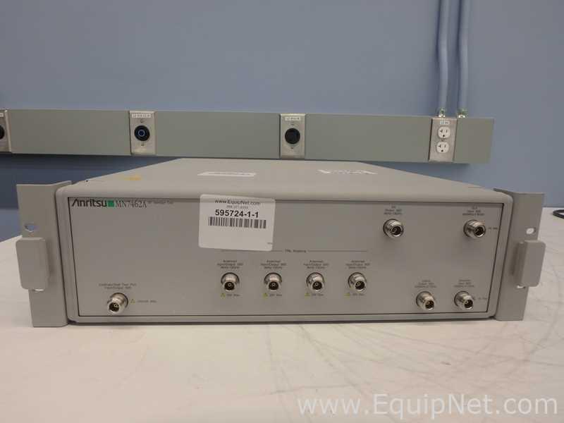Unidad de interfaz RF Anritsu MN7462A OPT 01 y 02