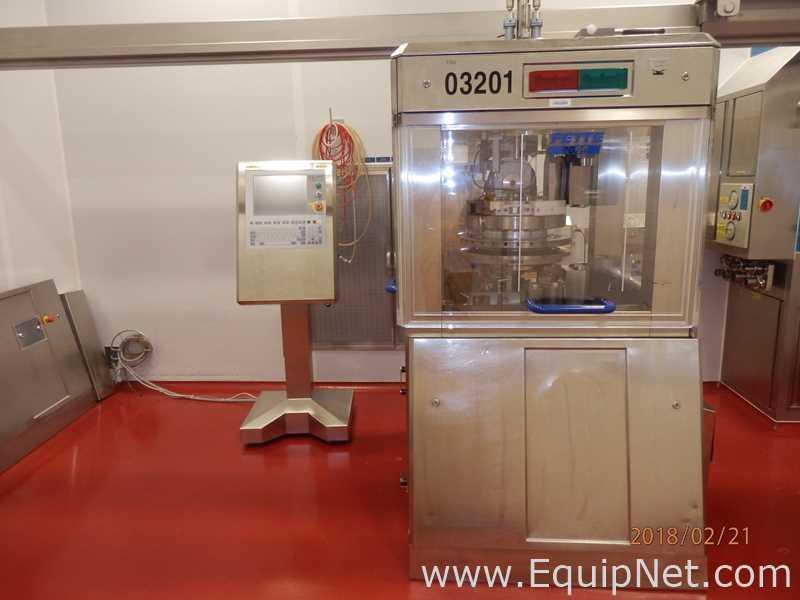 Fabricación farmacéutica y equipo de laboratorio de Novartis Suiza