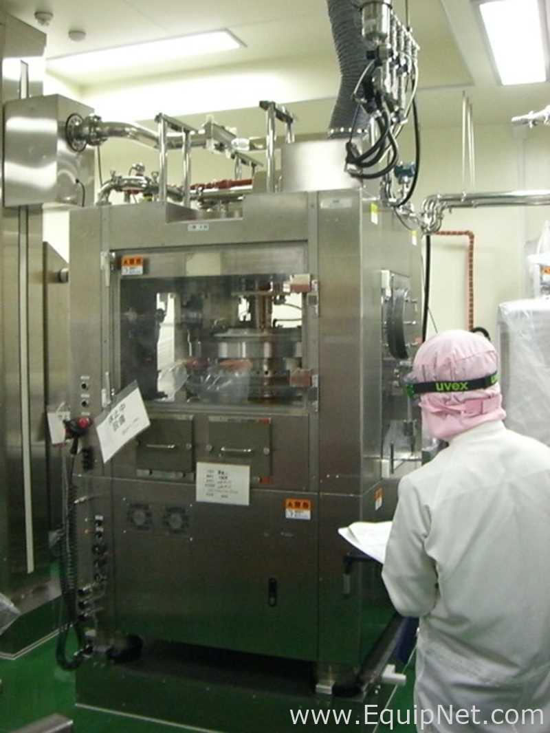Equipo de fabricación de tabletas y cápsulas disponible en Japón