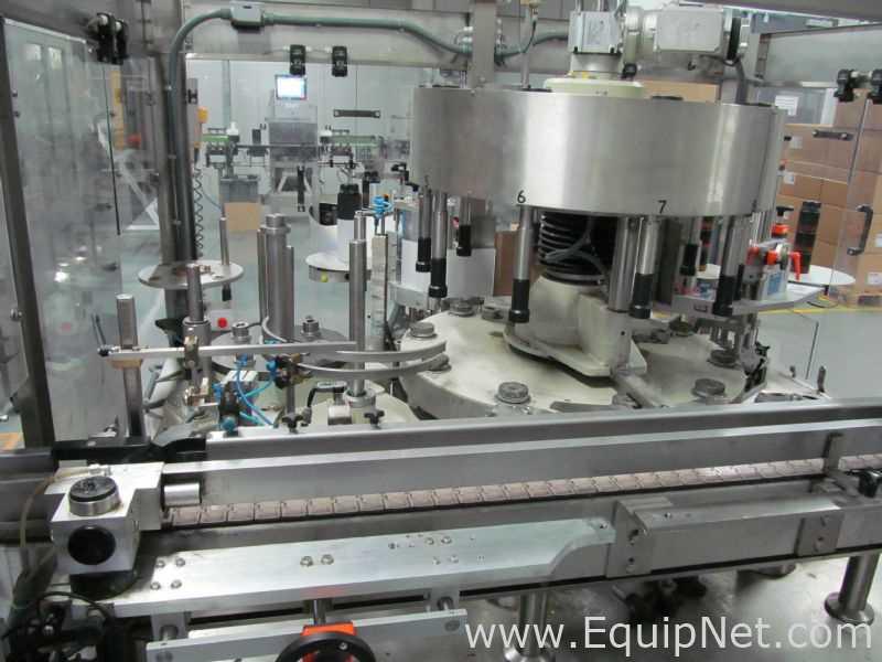 Gernep GmbH Labetta DUO 4 | 4 | 10-784 Etiquetadora de latas de tres cabezales