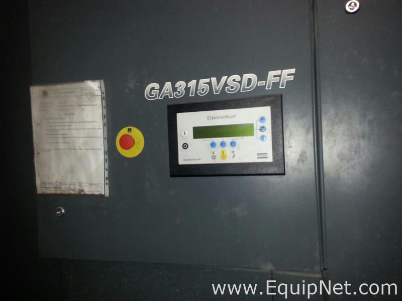 Atlas Copco GA 315 VSD FF Rotary Screw Compressor