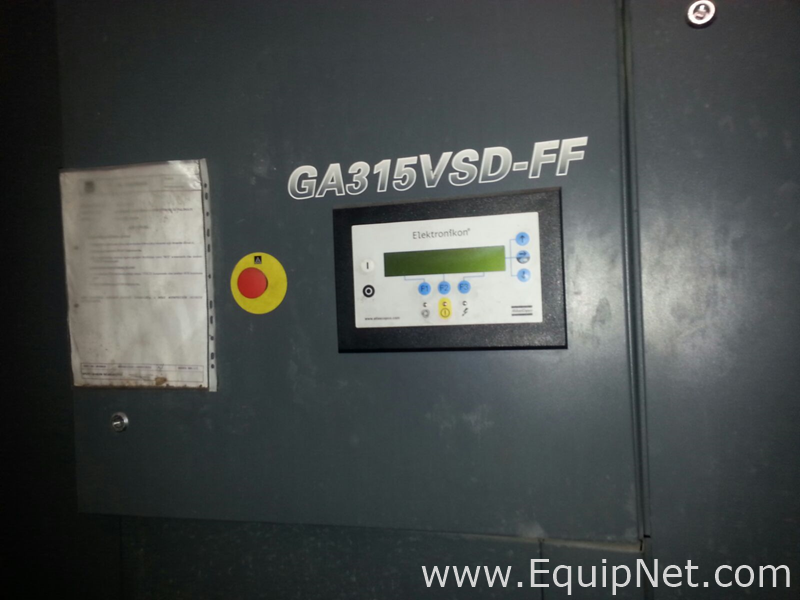 Atlas Copco GA 315 VSD FF Compresor de tornillo rotativo