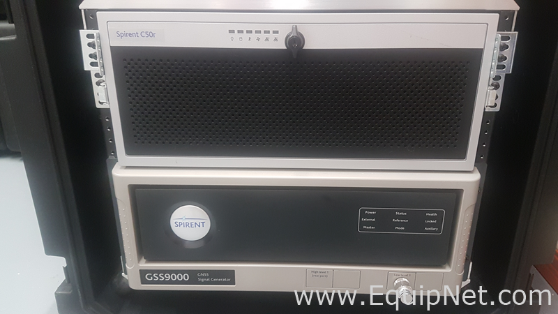 Equipo de prueba de señal GSS9000 de Spirent Communications Plc