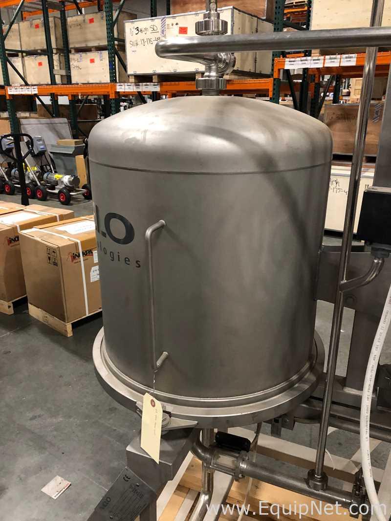 VLS FO2 2 medidor de filtro de hoja de presión horizontal