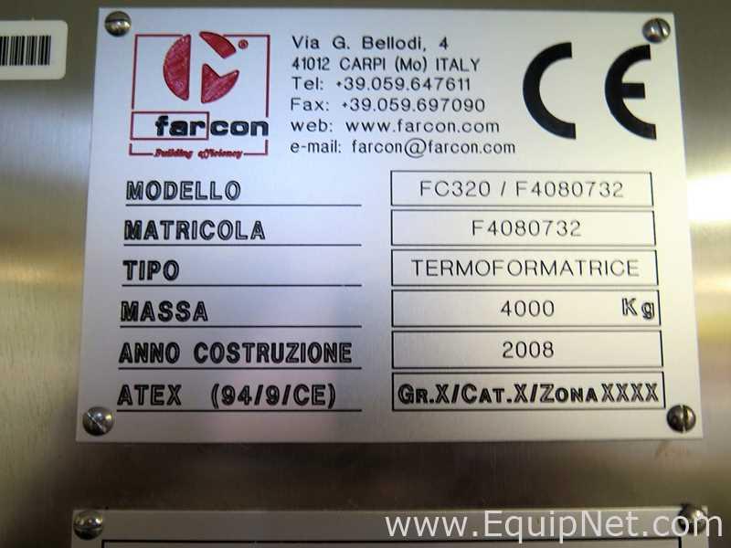 Prensa de corte y termoformado Farcon FC320