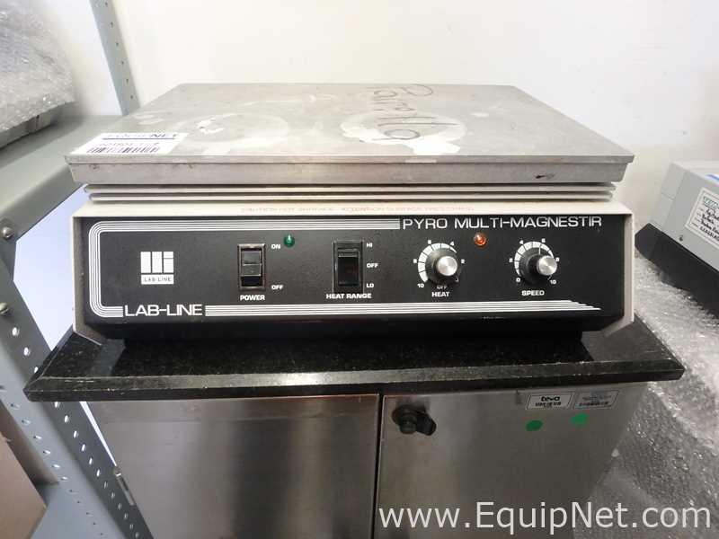 Barnstead Lab Line Pyro Multi Magnestir 1268 Agitador y placa caliente