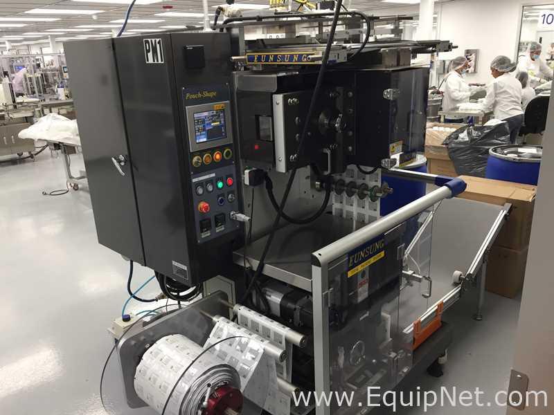 Eunsung ES-PL200 Máquina formadora, llenadora y selladora vertical para líquidos