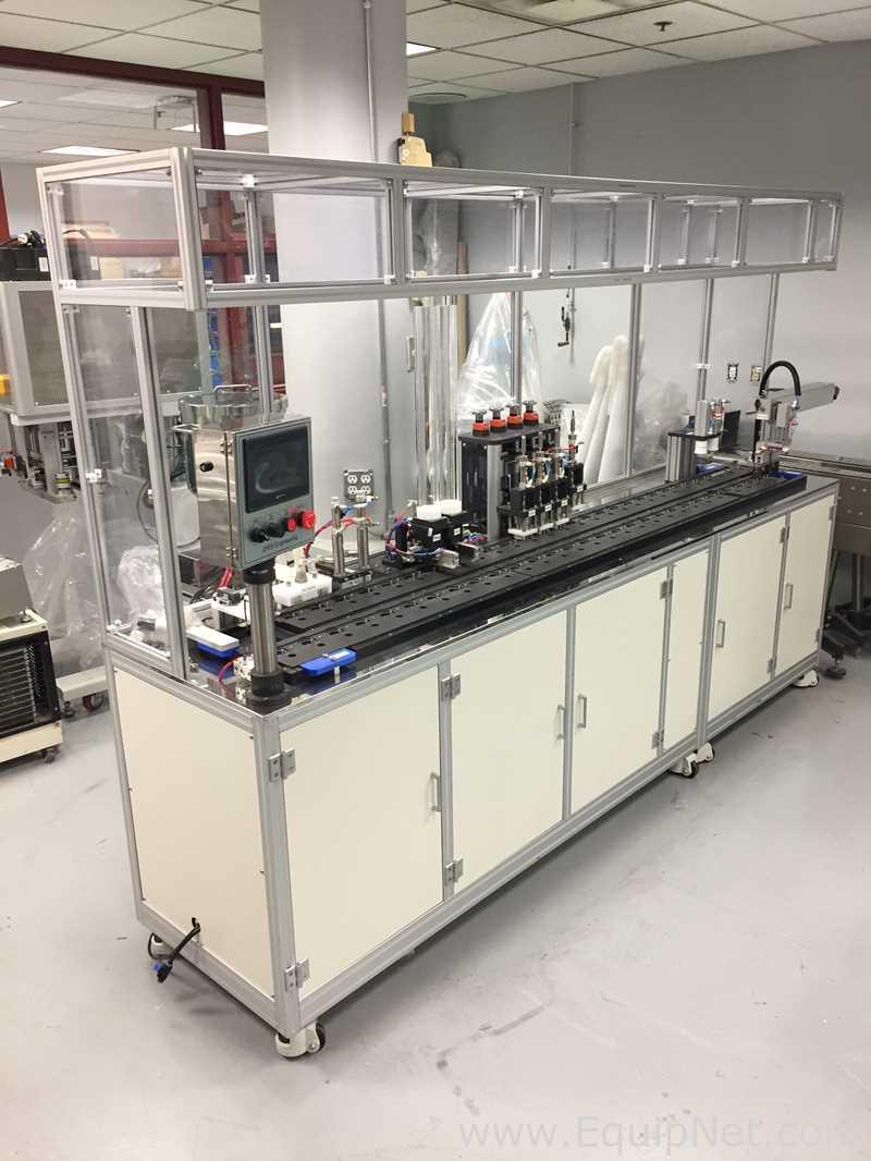 Líquido cosmético de ingeniería JIREH - Máquina de envasado de esponja de crema