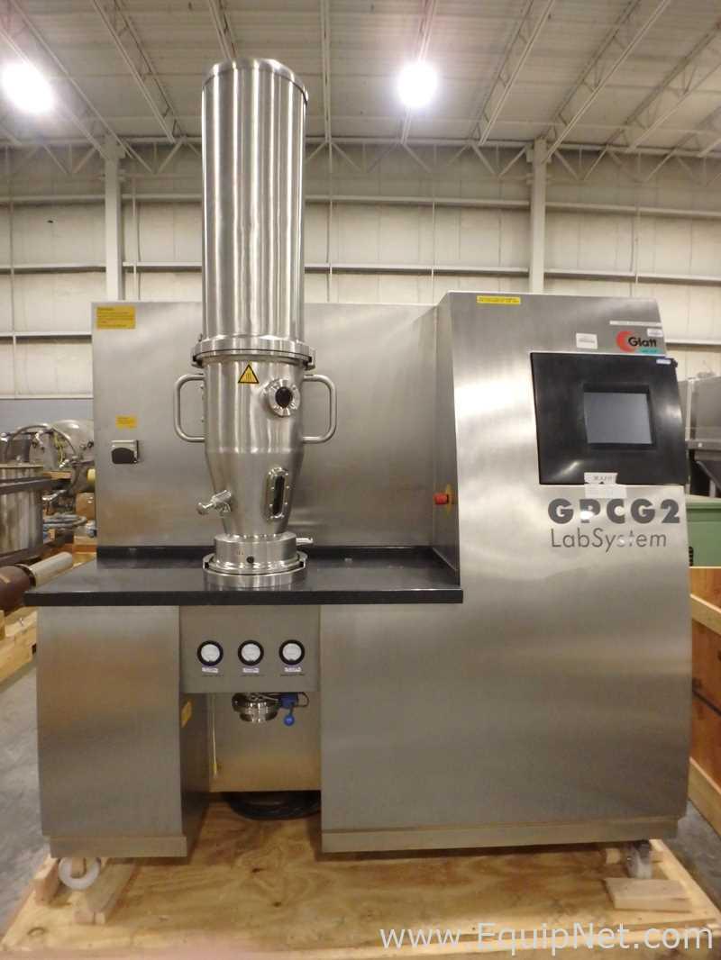 Secador de lecho fluidizado Glatt GPCG 2 Lab System