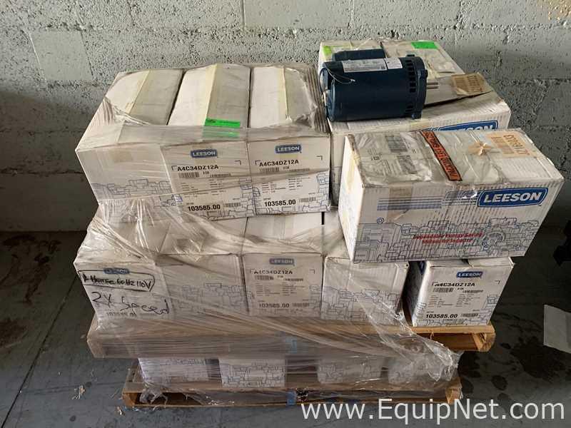 Lote sin usar de 60 motores Leeson Electric Corporation 103585.00