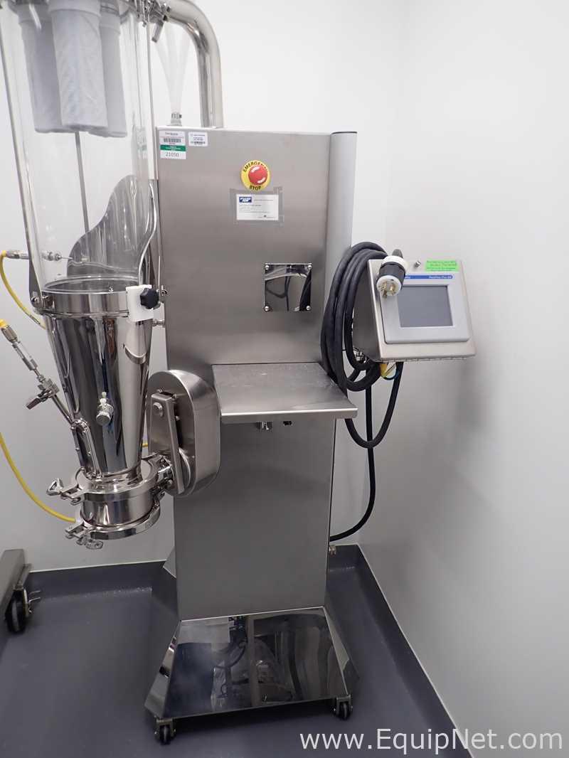 Secador de lecho fluidizado a escala de laboratorio de aire fluido
