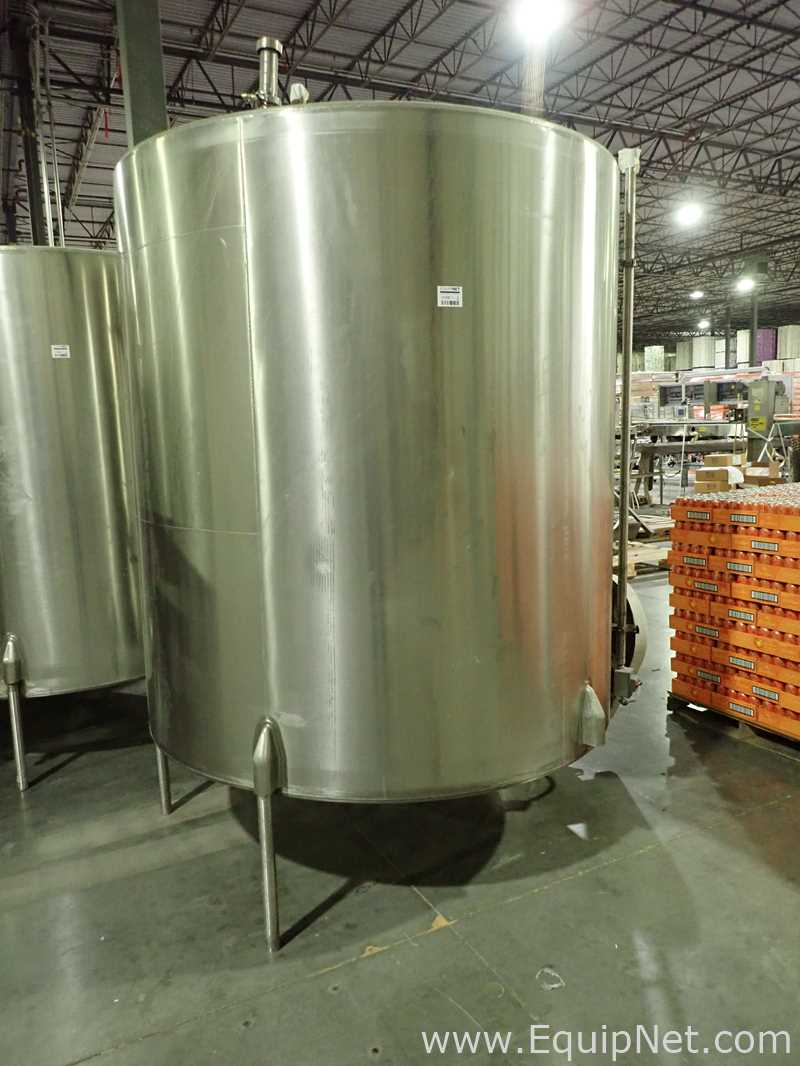 Crepaco Tanque de aço inoxidável de aproximadamente 1500 galões 11