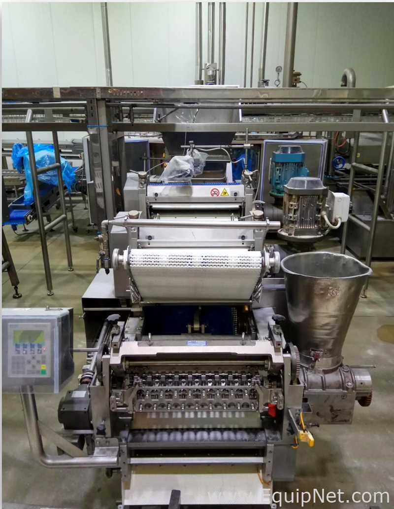 Linha de produção de massas Pavan GEA para massas recheadas frescas e cozidas