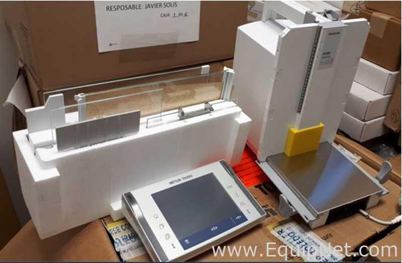 Balanza analítica Mettler Toledo XP105DR Capacidad 120 g