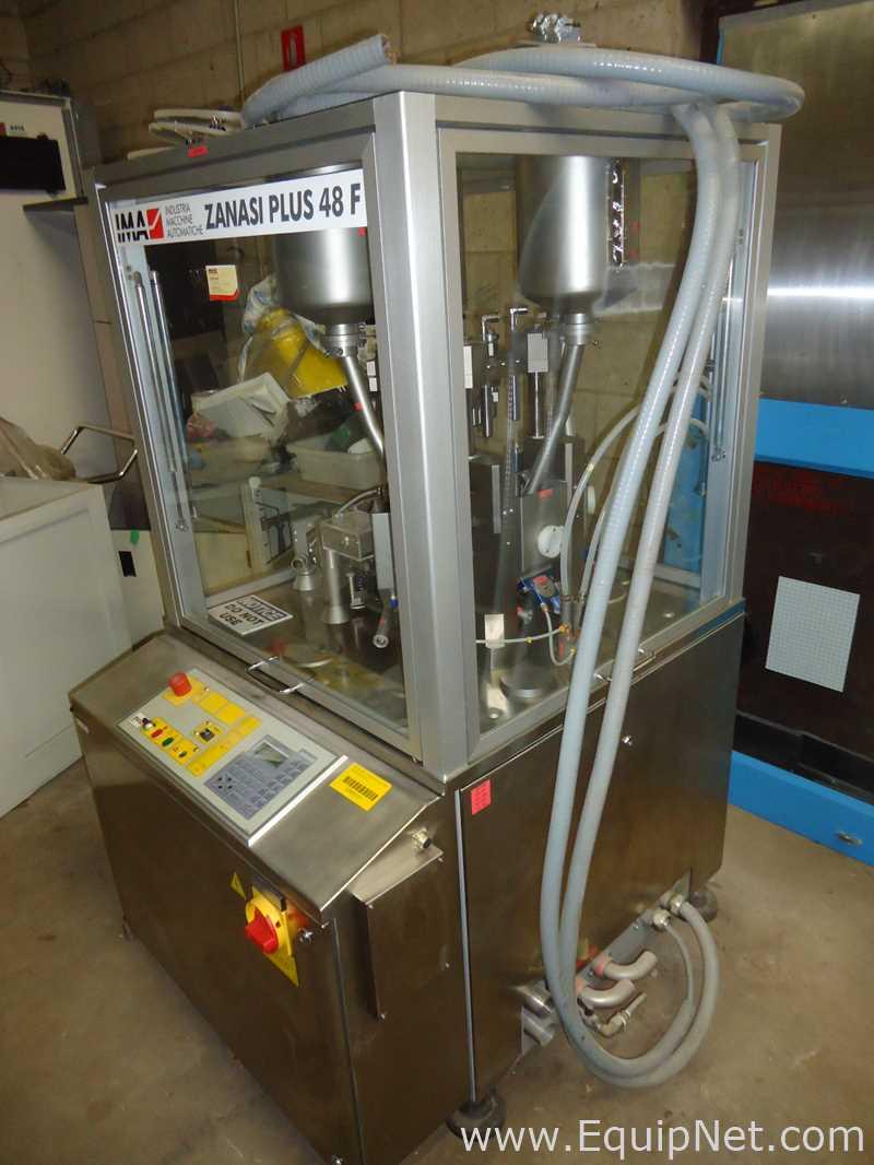 IMA Zanasi ZANPLUS 48F Máquina de encapsulación y relleno de cápsulas