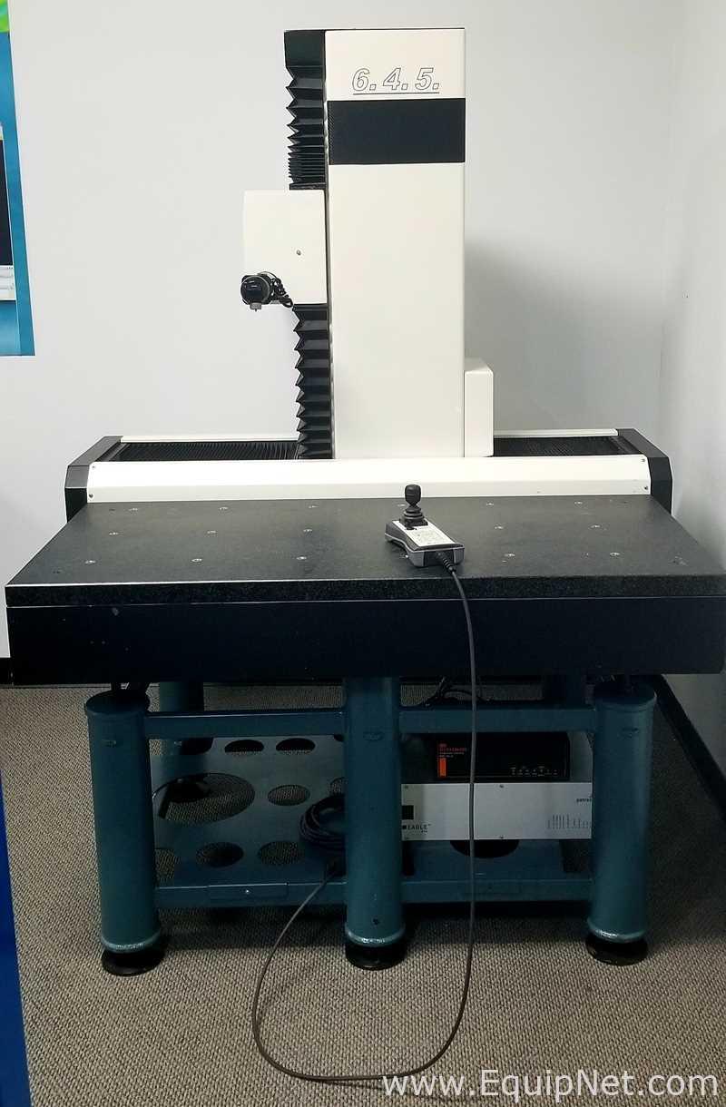 Precisión 6.4.5 Planta de taller de la máquina de medición coordinada
