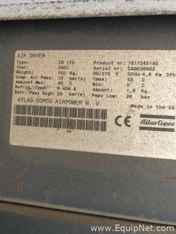 Compresor de aire Atlas Copco GA55FF