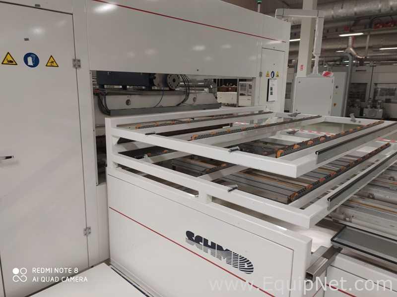 Línea de fabricación de módulos de paneles solares Schmid