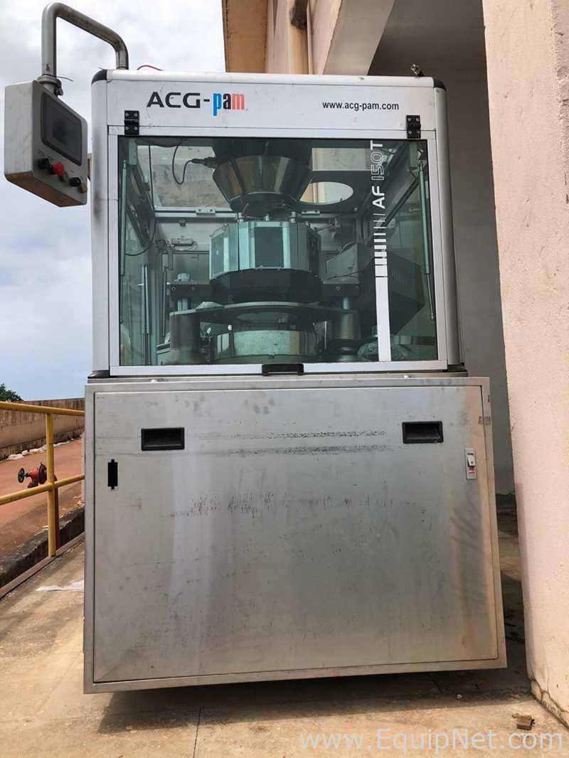 Máquina llenadora de cápsulas ACG Pam Pharma Technologies AF150T