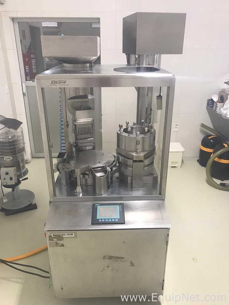 Máquinas encapsuladoras y llenadoras de cápsulas DGM 1200