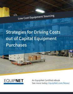 low cost equipment sourcing
