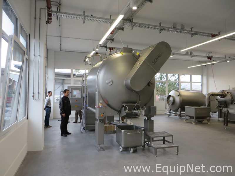 Mezclador Schroder Maschinenbau MAX 6000 para aves, carnes y mariscos